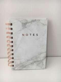 Little marble notebook and get it done post it list