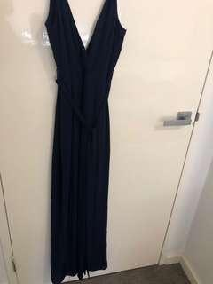 Jumpsuit- Size 6 Navy blue and in black