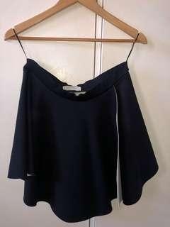 BNWT Black Zara Skirt