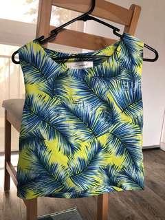 Summer sleeveless top