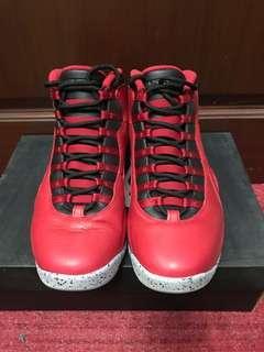 """Air Jordan 10 Retro """"Bulls over Broadway"""" 30th Anniversary"""