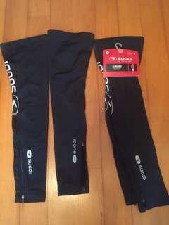 Sugoi leg warmers (lower leg) 2 pairs