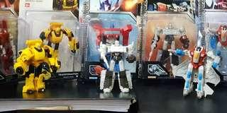Transformers - 5 figurines for 1 price