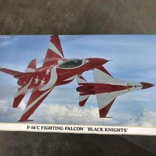 🚚 Hasegawa F16C RSAF Black Knights