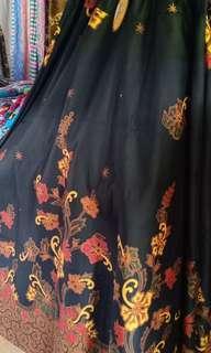 Rok panjang batik