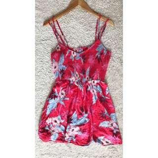 American Eagle Outfitters Sexy back mini floral Summer dress