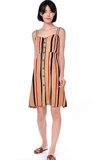 TEM Imena Striped Midi Dress
