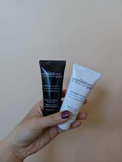 The microdelivery peel duo set 💁