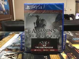 New Arrival - ASSASSIN CREED 3 REMASTERED