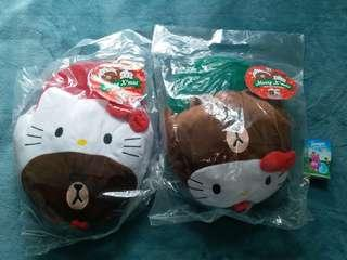 Hello Kitty &line Friends 暖腳套