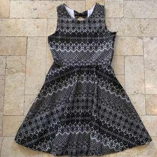 Rare Collection Black an White Girls Dress