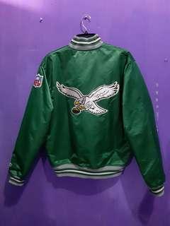 Jaket starter philadelphia eagles big logo