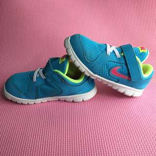 64268b78c7f8 Nike Rubber Shoes Teal Blue Green for Kids Toddler