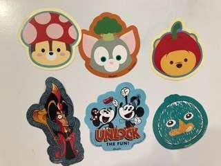 Hongkong Disneyland stickers for trade