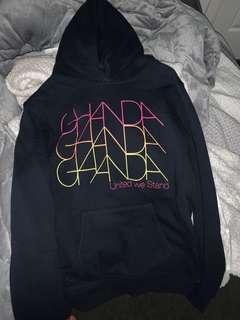 brand new ghanda hoodie
