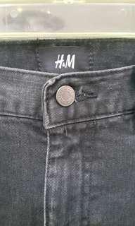 H&M Black Denim Skinny Jeans