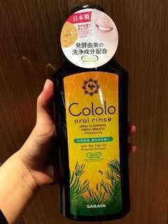 日本 SARAYA Cololo Oral Rinse咕嚕嚕 蜂膠酵素漱口水
