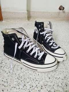 CONVERSE ALLSTAR STYLE JAPAN HIGH TOP SNEAKERS CANVAS SHOES BLACK