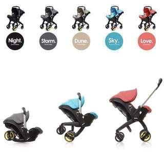 Brand new Doona alike stroller.