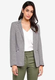WALLIS Striped Jacket Blazer NEW