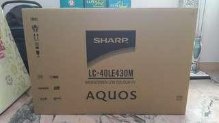 """[Used] Sharp 40"""" LCD TV (Model: LC-40LE430M)"""