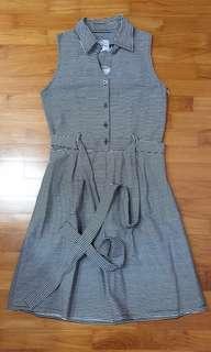 🚚 Stripe dress #MRTTampines #MRTRaffles
