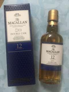 舊裝 macallan double cask 酒辦 收藏用