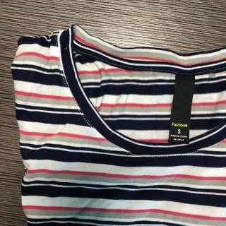 factorie striped t-shirt dress
