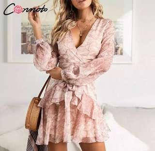 Cute light pink dress