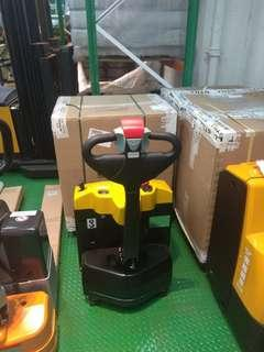 1.2 Tons electric hand pallet truck forklift and stacker also available