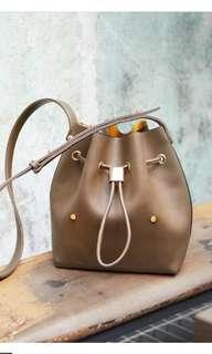 Sometime bucket bag mini Niko brown