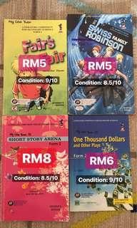 PT3 English Literature Books (form 1&2)