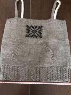 100%wool 小冷背心