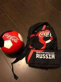 Coca Cola ⚽️🎒 套裝