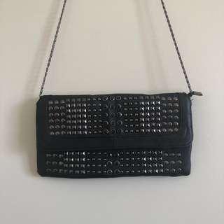 Black Studded Clutch ✨