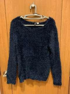 H&M Faux Fur Sweater