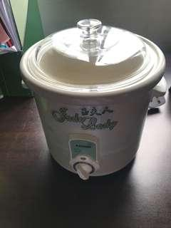 Slow Cooker with jade bowl