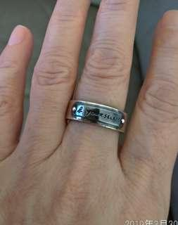 Agnes b.titanium 925 ring