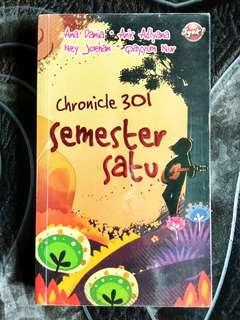 Novel PTS Chronicle 301 Semester Satu