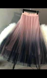 Unicorn Ombre Long Skirt