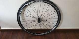 Bontrager front wheel with tyre