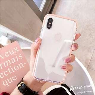 🚚 BN IPhone X Clear Transparent Cover