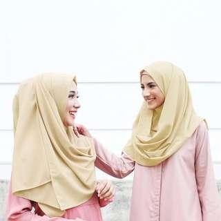 [ MURAH ] Hijab kerudung instan sala pashminaa instan