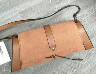 Brown Hard Case Bag