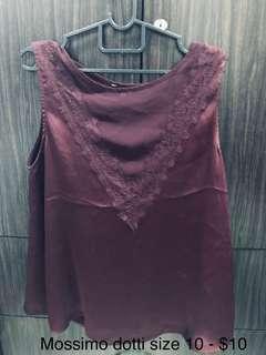 🚚 #dressforsuccess30 Mossimo Dotti top