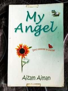 Buku PTS One Novel My Angel Aizam Aiman