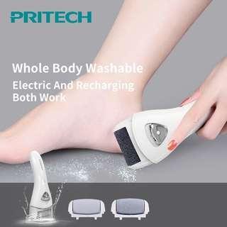 Pritech Electric Callus Remover Pedicure Machine Foot Care Tool File Dead Skin