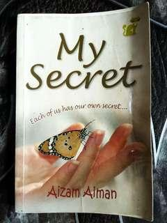 Buku PTS One Novel My Secret Aizam Aiman