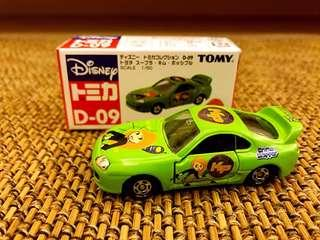 Tomy Tomica D-09 藍字 麻辣女孩 車仔 已絕版