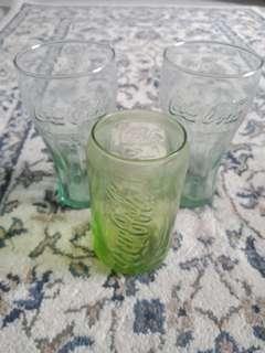 Coca Cola glass collectible